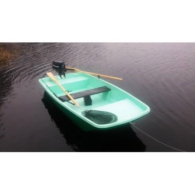 Plastikinė valtis NIKA 300 Trimaranas